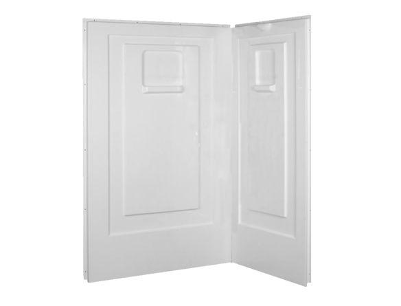 36 x 48 inch acrylic shower wall set - Acrylic shower wall panels - Showers - Bathrooms - Produits - Bath Depot