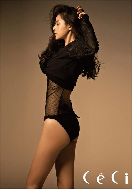 Love her body so pretty! Min Hyo Rin!