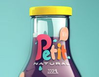 Petit - Natural Juice by Isabela Rodrigues, via Behance