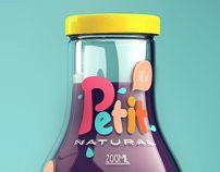 Petit - Natural Juice by Isabela Rodrigues, via Behance
