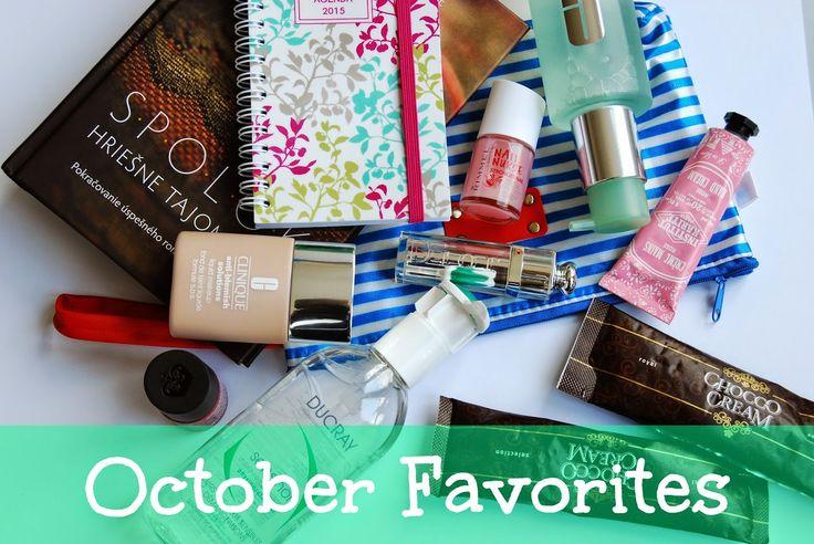 Nicka The Beauty Hunter: October Favorites