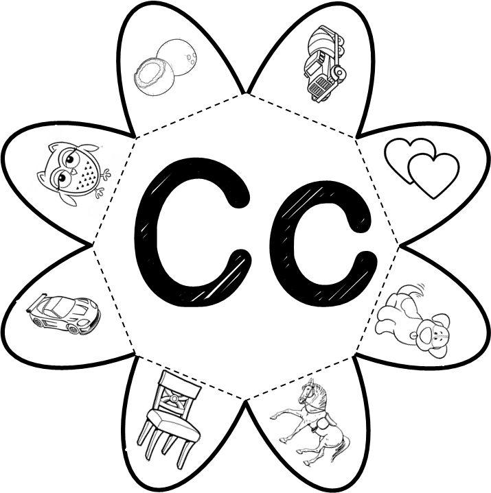 Atividade interativa com a letra C     Dando continuidade com a atividade interior, o professor poderá explorar a imagem com dif...