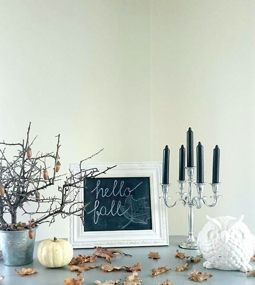 Ősz, krétatábla....Autumn, chalk board