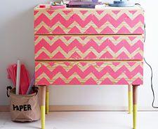 Handmade - Anleitungen: Ideen für die Wohnung: Möbel bedrucken