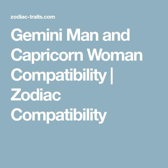 capricorn woman dating gemini man