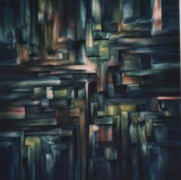 "DAWN IN THE CITY Original Oil Painting 30""X40"" by John R Jurisich"