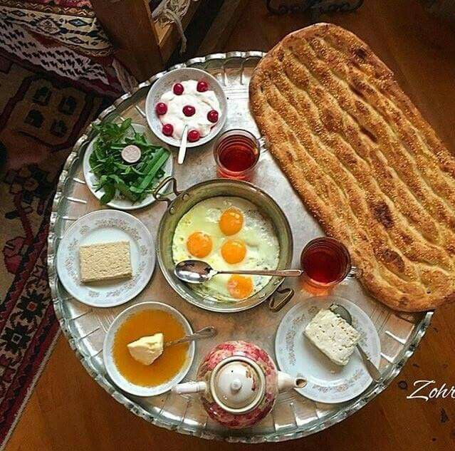 Dreaming of a #Iranian breakfast brunch with freshly baked #Barbari bread  realiran.org  #Iran_Style