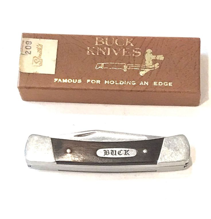 Vintage Buck Pocket Knife with Box  | eBay