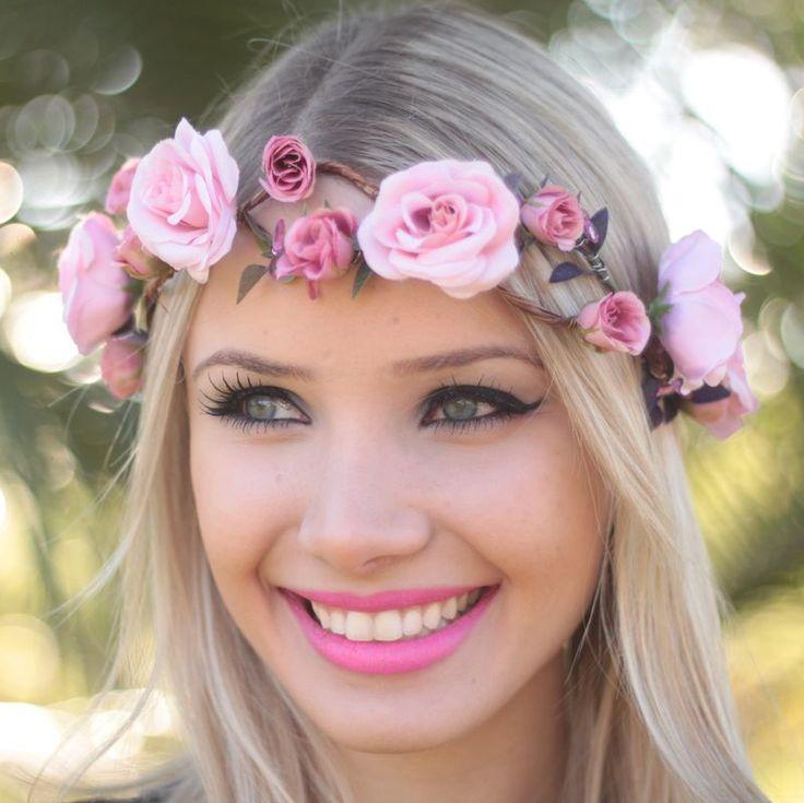 Coroa de Flores Glamour - G.Offer