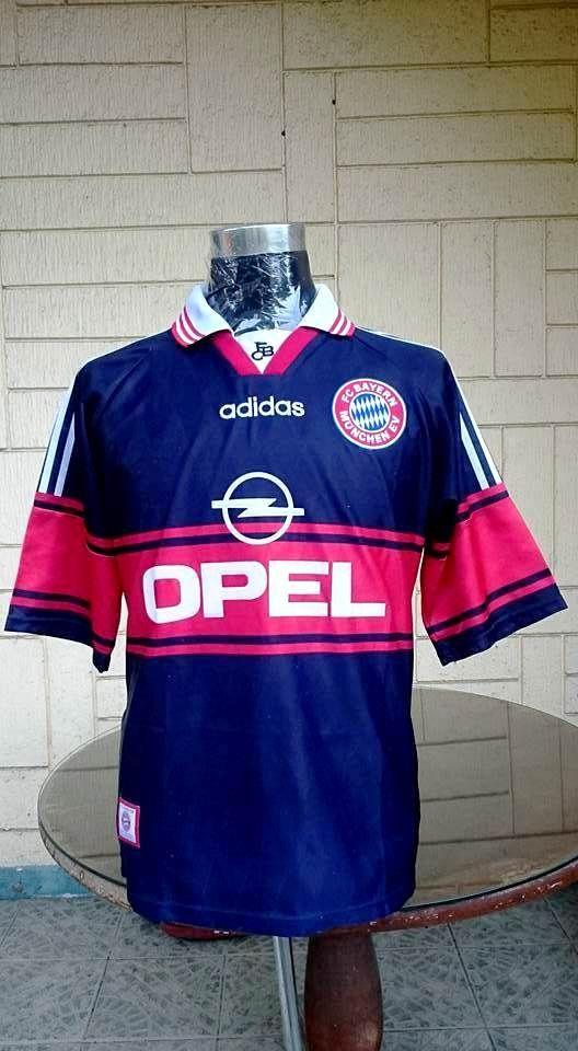 BAYERN MUNICH 1997-98 DFB- LIGAPOKAL CHAMPION JERSEY TRIKOT FUSSBALL