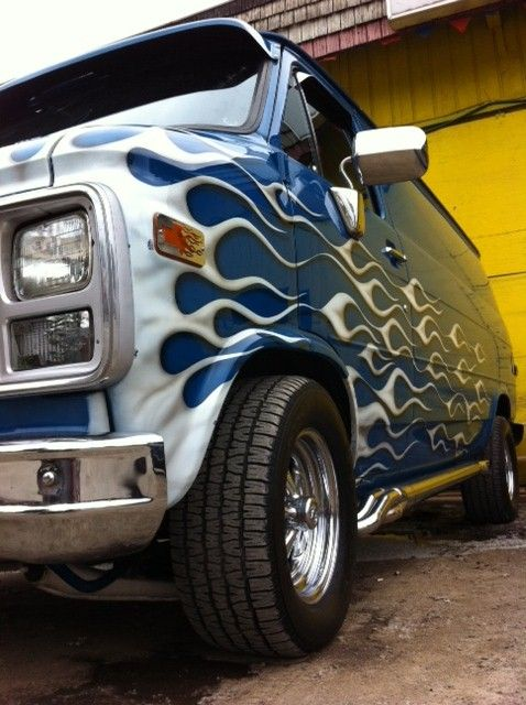 25 Best Chevy Vans Ideas On Pinterest Custom Van