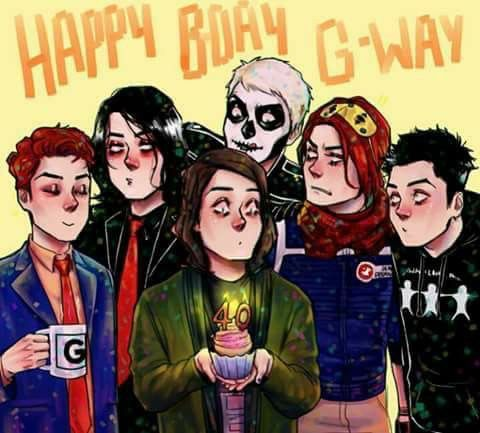 this awesome art is by @ where.areyou.destroya on instagram (: go follow them they do loads of cool fan art (some frerard as well)