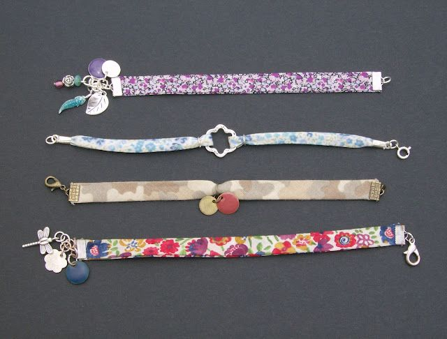 "Bracelets ""Liberty & breloques"""