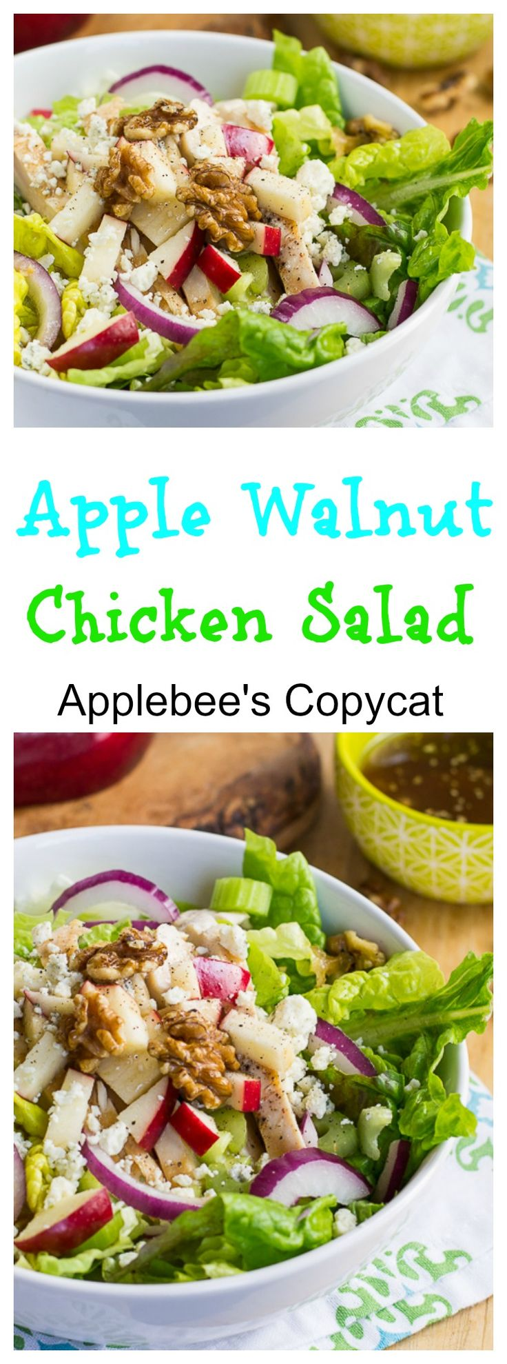 ... Apple Walnut Salad on Pinterest | Blue Apron Reviews, Walnut Salad and