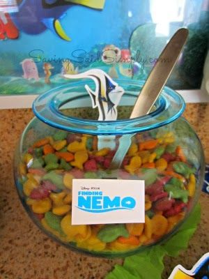 How To Host DIY a Finding Nemo Party, perfect for birthday parties on a budget