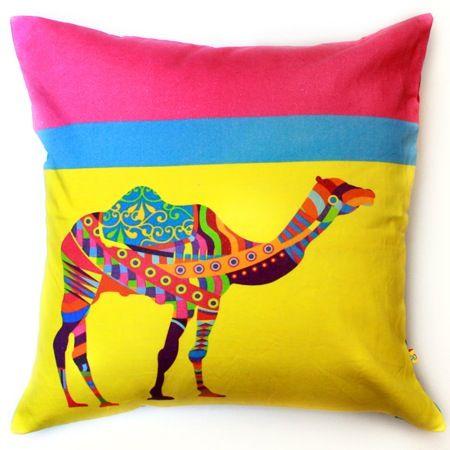 Lifestyle, QuirkBox, Camel Animal Farm Cushion Cover