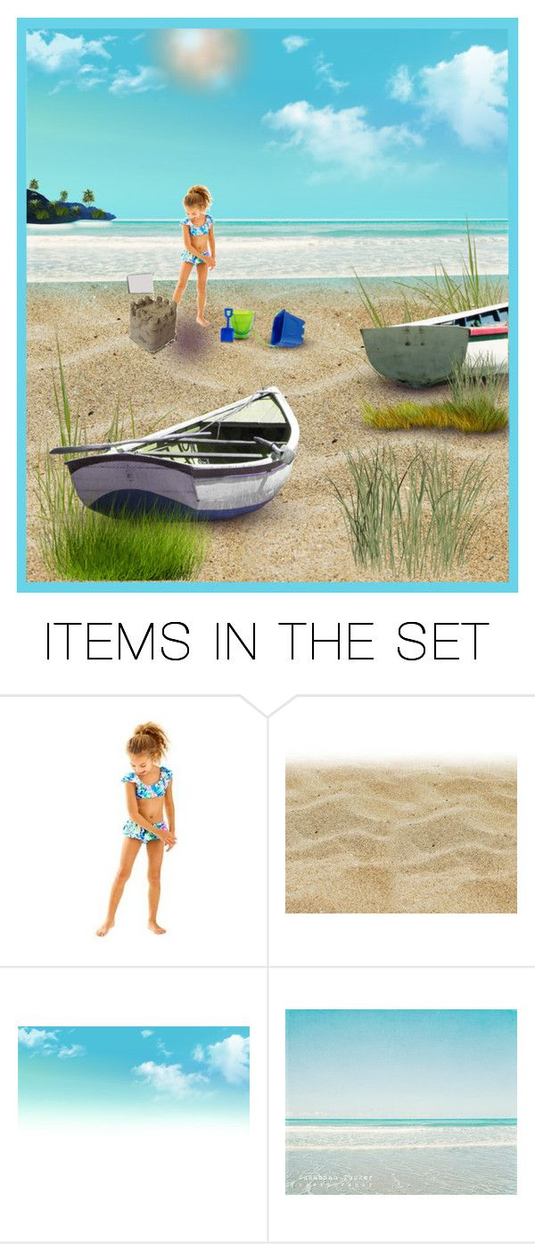 """""""Building Sand Castles"""" by rboowybe ❤ liked on Polyvore featuring art and contestentry"""