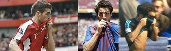 Hiszpan całował herb Arsenalu Londyn, FC Barcelony i Chelsea Londyn • Cesc Fabregas i jego nieoceniona lojalność • Zobacz zdjęcie >>