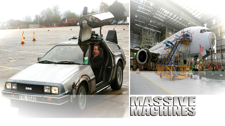 Massive Engines Chris Barrie hosts an enthralling look at some of the world's most incredible machines as he explores some of the world's biggest engines, including monster trucks, giant diggers, rockets, trains, supertankers and earthmovers.