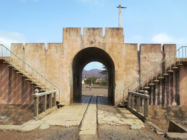 The former concentration camp near Tarrafal on Santiago Island, Cape Verde, is now the Museu da Resistencia. Political prisoners from the Portuguese colonies in Africa were held here until 1974.