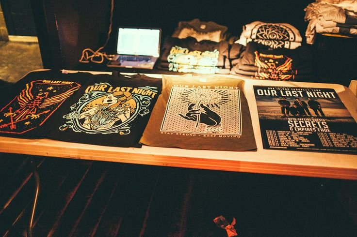 Merch table :)