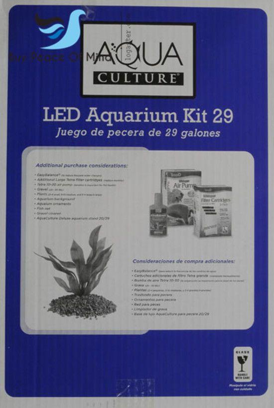 29 Gallons Aquariums