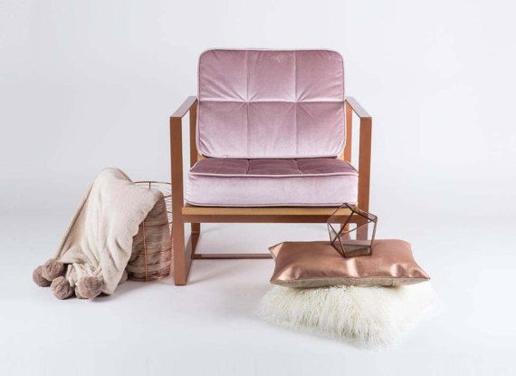 Armchair NAKATO  lounge chair  modern style by SparkCraftWorkshop