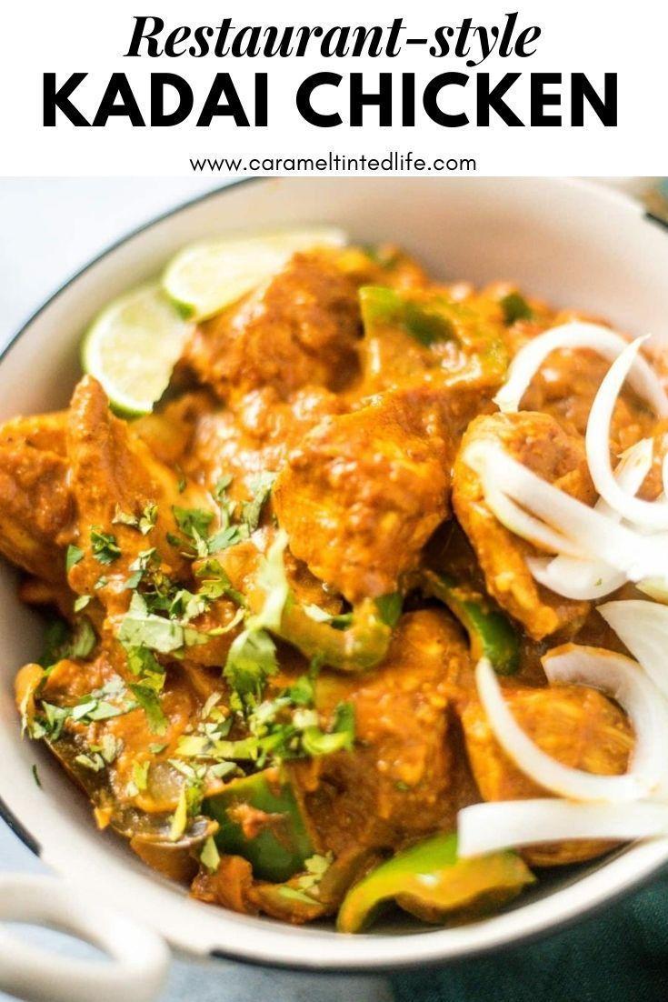 Kadai Chicken Recipe Indian Chicken Recipes Easy Easy Indian Recipes Easy Indian Appetizers