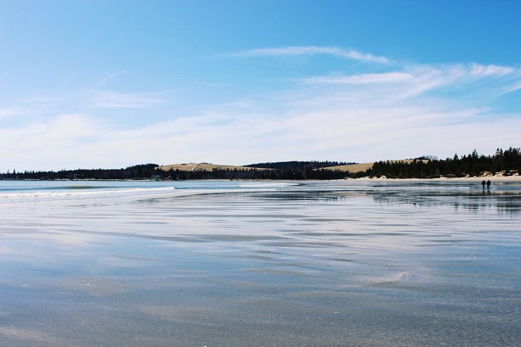 Rissers Beach, NS • Reflections ☁️🌊