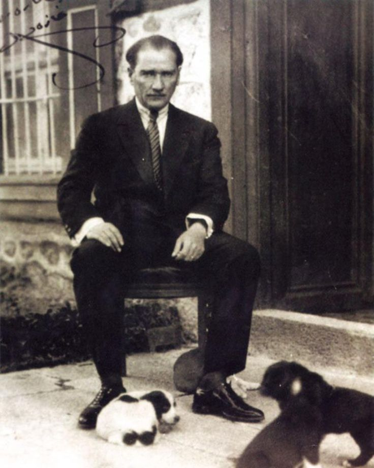 Ataturk, founder of Republic of Turkey <3
