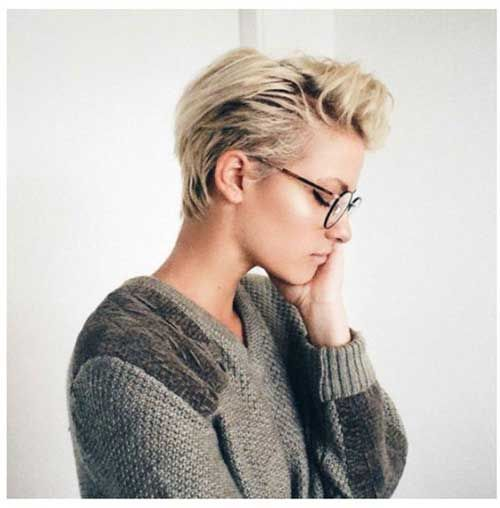 13.Long Pixie Hairstyle