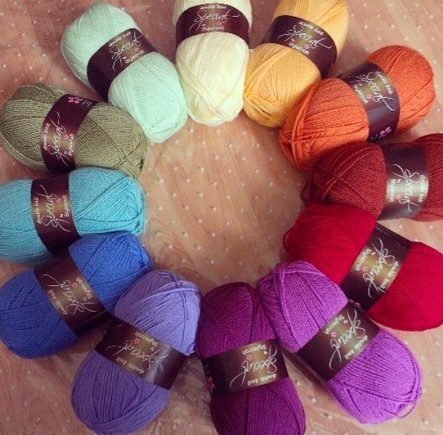 Stylecraft Yarn colour combinations