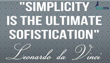 Ingredientele succesului : leonardo da vinci simplicity  #davinci #simplicity http://cristianfertea.ro/solutii-pentru-dezvoltare-personala/ingredientele-succesului-2/