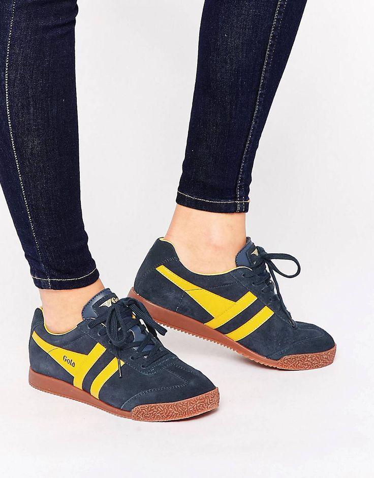 Chaussures De Sport À La Mode Avec Des Accents De Couleur Bleu Pour Les Femmes Esprit 58Y64