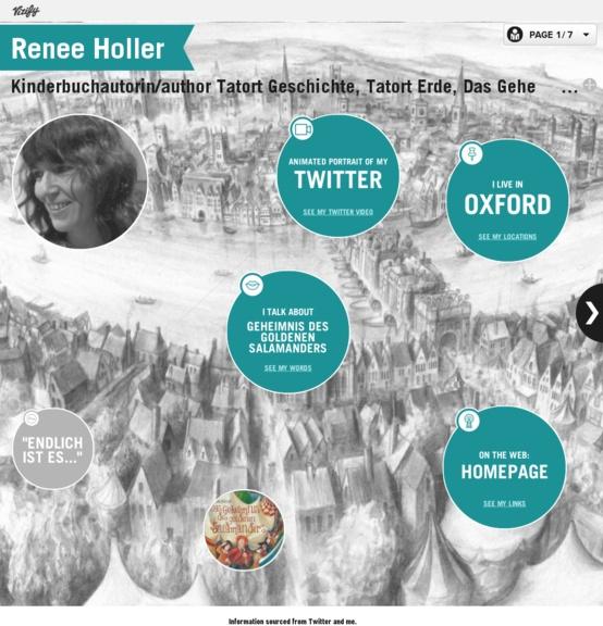 Renée Holler auf Twitter