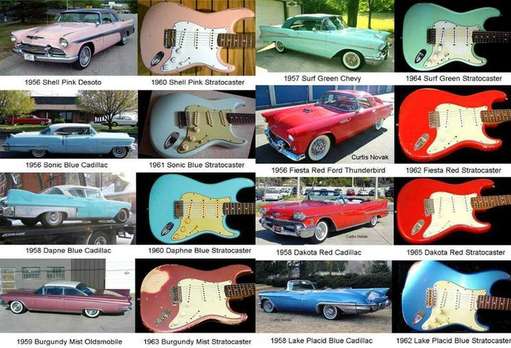 Colour Paint Stratocaster Ideas