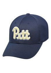 Top of the World Pitt Panthers Mens Navy Blue Booster Plus Flex Hat