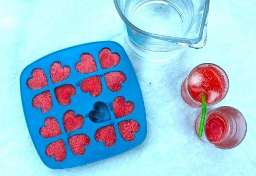 Strawberry-Limeade ConcentrateIce Cubes, Lime Juice, Simple, Lemonade, Strawberries Limeade, Limeade Concentration, Strawberry Limeade, Ice Cube Trays, Strawberries Limes
