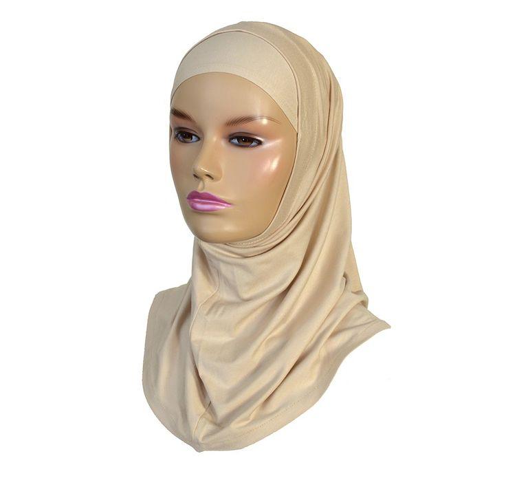 Two piece amira hijab light beige - Hijab Now £ 4.99