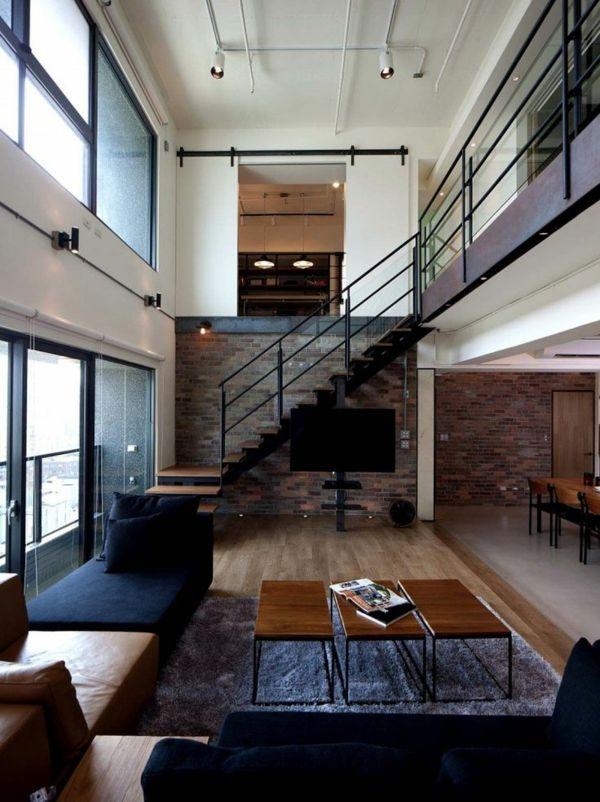 escalier loft, espaces lofts
