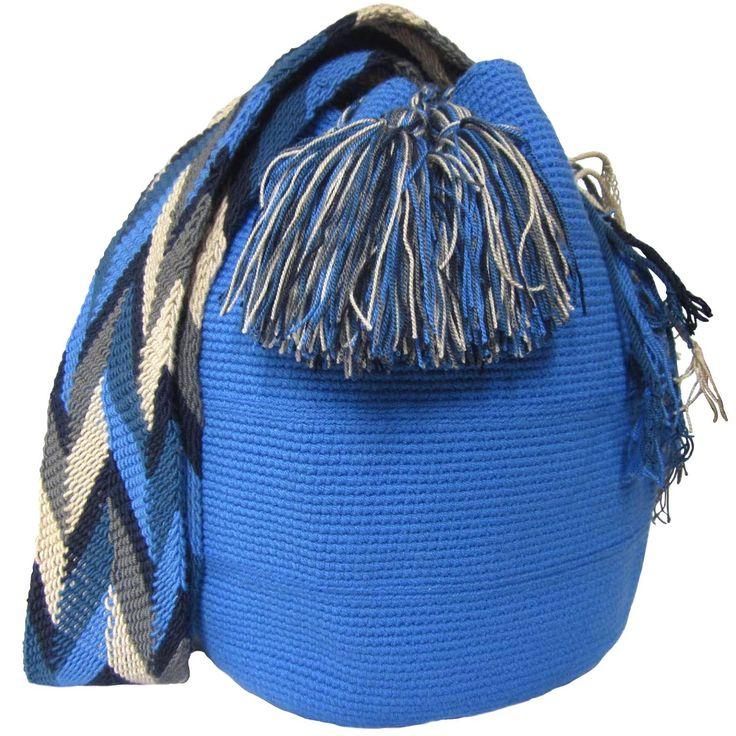 Mochila Bag. $90.00 FREE SHIPPING | Handmade and Fair Trade Wayuu Mochila Bags – LOMBIA & CO. | www.LombiaAndCo.com 3d