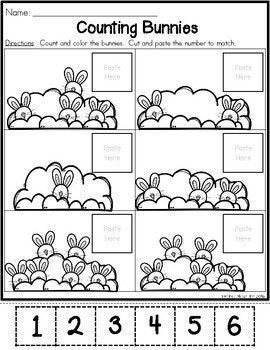 Easter Preschool Morning Work   School - Math   Pre k