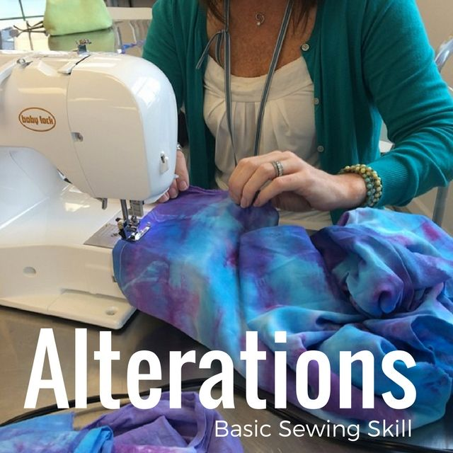 Alterations are a basic sewing skill that many take for granted. Learn the basics, skip the dry cleaners bill and do it yourself.