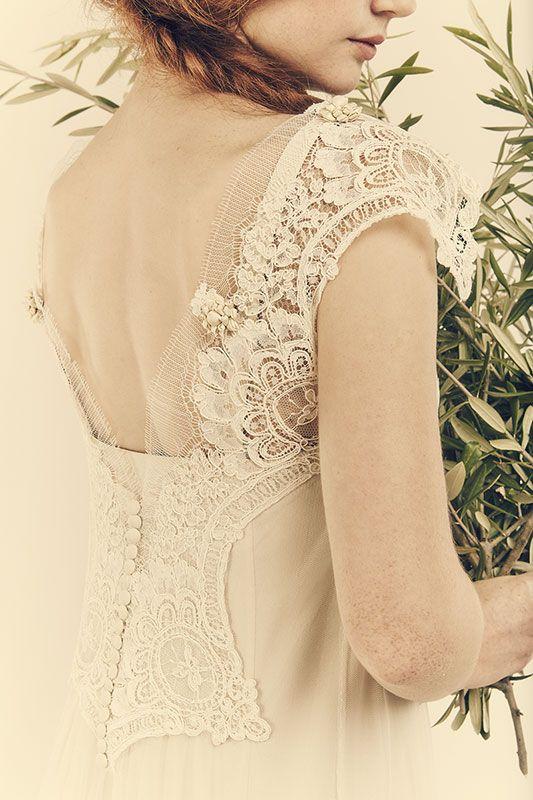 L'abito da sposa si tinge di colori pastello. Anticipazioni #RomaSposa #moda #tendenze #2015