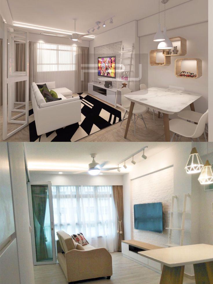 Hdb Living Room Decorating Ideas: House Interior, Living Room