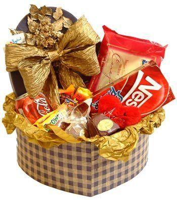 Como montar Cesta de Chocolates - Montar cesta de Chocolates é uma ótima opção para quem deseja pres