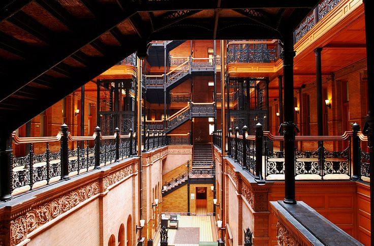 The Bradbury Building: 21 Places Every Arts and Culture Lover Should Visit in Los Angeles via @MyDomaine