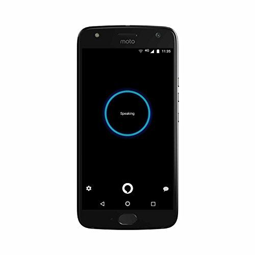 Moto X (4th Generation) - with hands-free Amazon Alexa - 32 GB - Unlocked - Super Black - Prime Exclusive - Introducing Moto X4, a phone designed like no other, with the power of hands-free Amazon Alexa. Stay protected from splashes with IP68-rated water resistance. With an advanced 12 MP + 8 MP dual rear camera system, it's made for taking your best photos ever. Incredibly sharp images in low light. B...