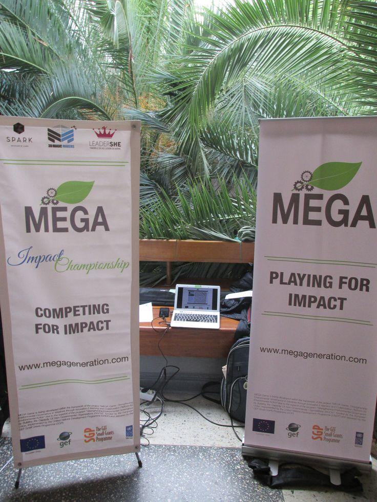 MEGA at IarmarEco 2015 presenting MEGA Impact Championship in Chisinau, Moldova.