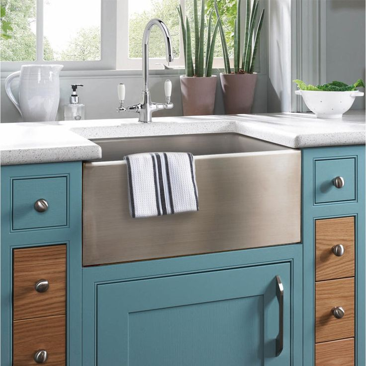 Astini Belfast 600 1.0 Bowl Brushed Stainless Steel Kitchen Sink & Waste - Astini from TAPS UK